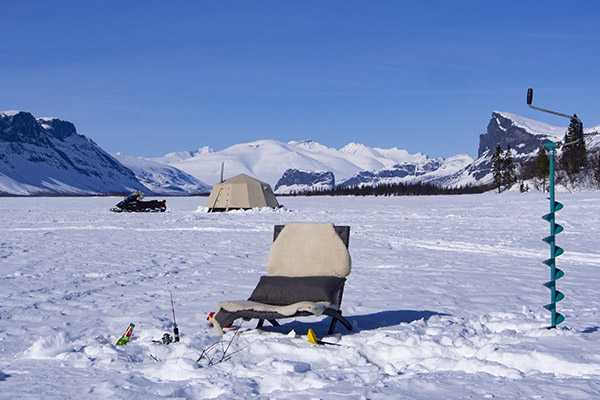 Camping on Ice